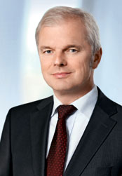 Ulrich Wallin, Chairman of the Executive Board (photo)